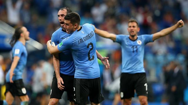 Godin-Gimenez, la paire impassable d'une Uruguay irréprochable