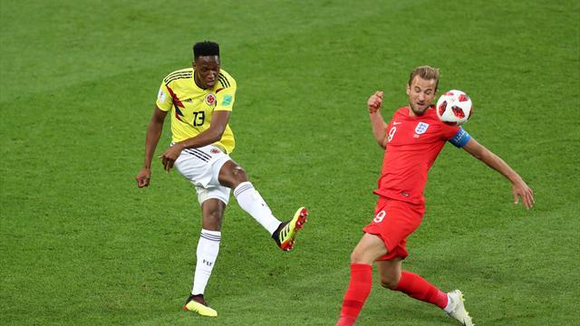 Великобритания обыграла Колумбию всерии пенальти ивышла в ¼ чемпионата мира