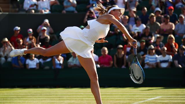 Tremblement de terre à Wimbledon, Sharapova éliminée par la 132e mondiale