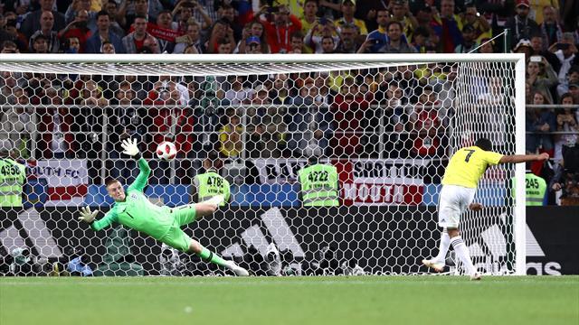 Pickford hält gegen Bacca: England besiegt den Elfmeter-Fluch