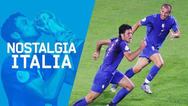 Nostalgia Italia: 4 luglio 2006, Germania-Italia 0-2, andiamo a Berlino!