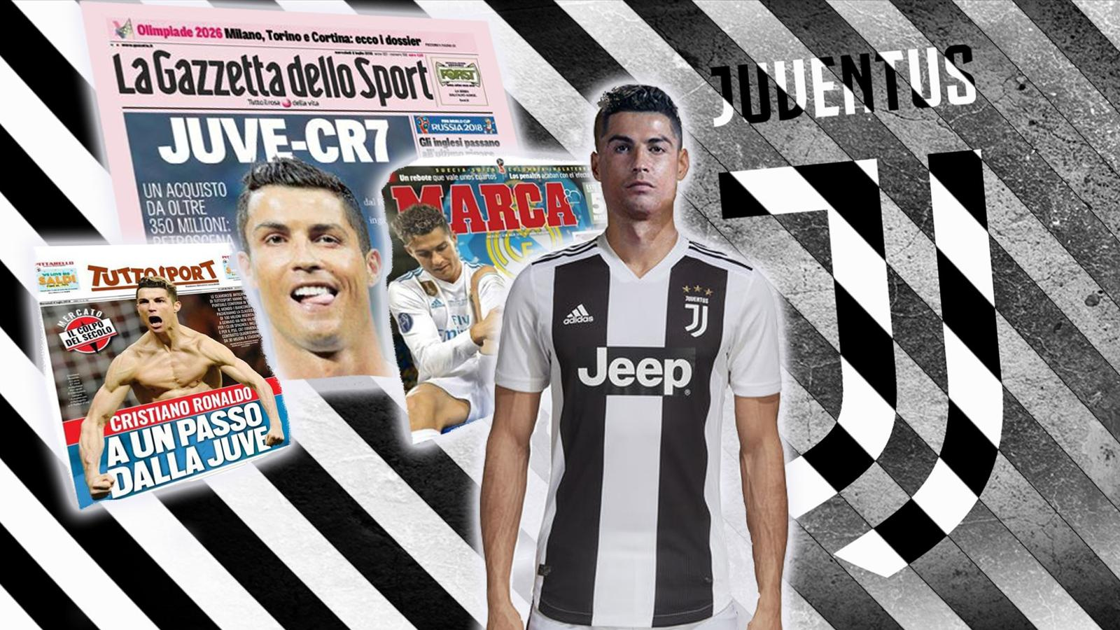 VIDEO - Euro Papers: Cristiano Ronaldo's move from Real Madrid to Juventus 'is happening ...