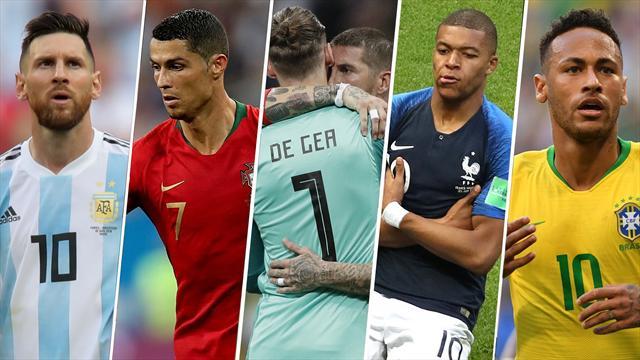Mundial 2018: Las caras y las cruces de los octavos de final