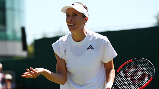 Angeschlagen und ausgeschieden: Wimbledon für Petkovic zu Ende