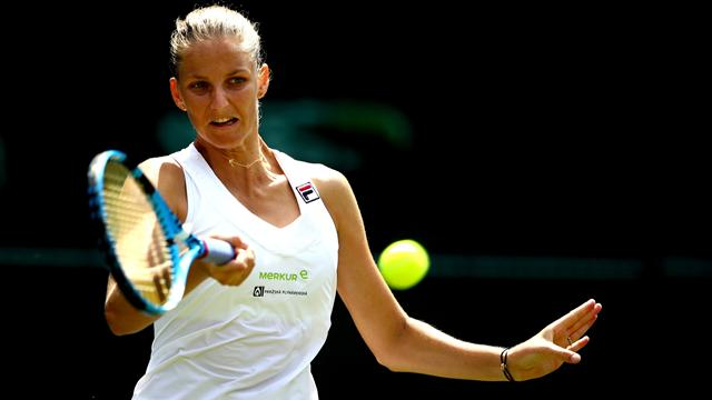 Pliskova se remet à l'endroit, Venus et Keys assurent, Radwanska prend la porte