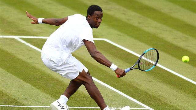 Wimbledon : Gaël Monfils en huitièmes de finale pour la première fois