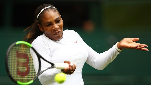 Serena trop forte pour Mladenovic, première pour Monfils — Wimbledon
