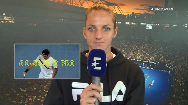 60-Second Pro: Pliskova reveals secrets to the perfect serve