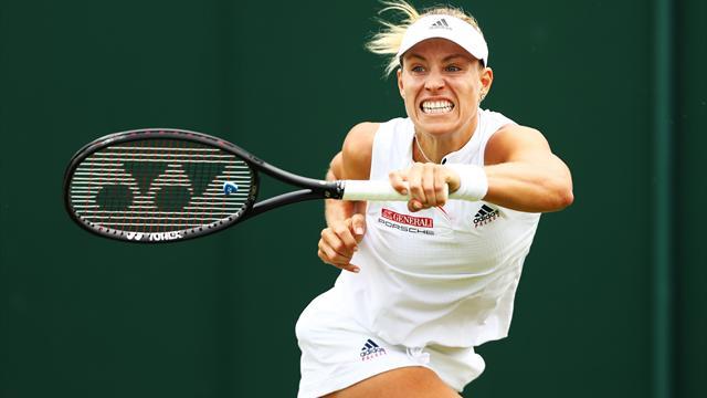 Nur einen Satz verloren: Kerbers Weg ins Wimbledon-Finale