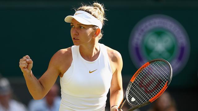 Simon rejoint Del Potro en huitièmes de finale — Wimbledon
