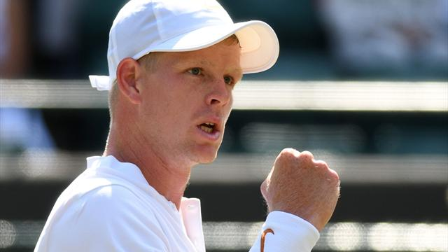 Edmund sets up Djokovic showdown with win over Klahn