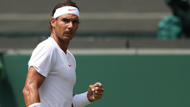 Plus qu'une victoire et Nadal sera assuré de rester N.1 — Wimbledon
