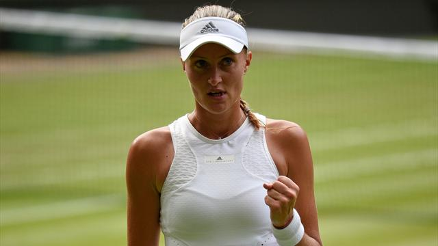Wimbledon: Kristina Mladenovic donne rendez-vous à Serena Williams