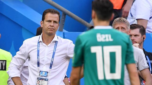 Bierhoff denkt laut über Özil nach: Große Chance vertan