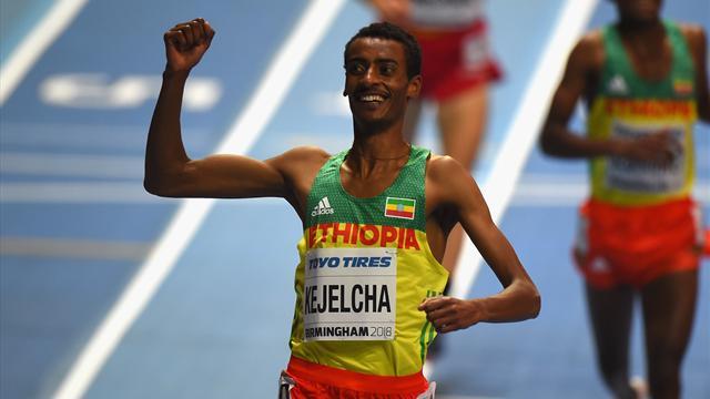 Record du monde du mile en salle pour l'Ethiopien Kejelcha