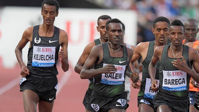 Etiyopyalı atletler birbirine girdi