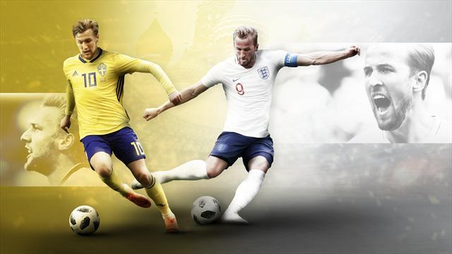 L'Angleterre en demi-finale en battant la Suède (2-0) — Mondial