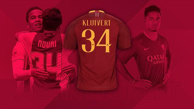Il nobile gesto di Justin Kluivert, giocherà per la Roma con il numero 34 per onorare l'amico Nouri
