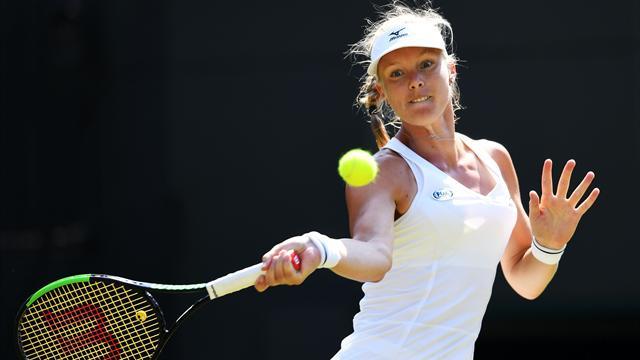 Prachtig Wimbledon-avontuur eindigt voor Bertens in de kwartfinale