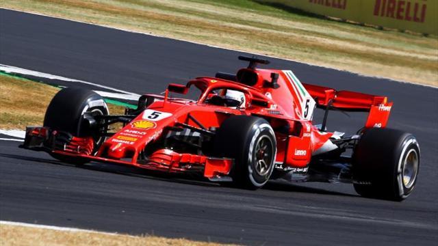 Vettel releva a Hamilton en la primera plaza en la sesión vespertina