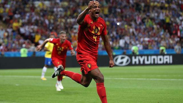 Rot sticht Gelb! Brasilien geht gegen Belgien k.o.