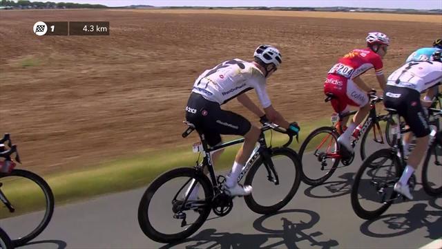 Фрум упал на первом же этапе «Тур де Франс». Ужасное начало веломногодневки для Криса