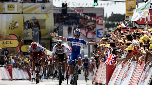 Tour de France'ta açılış Gaviria'dan