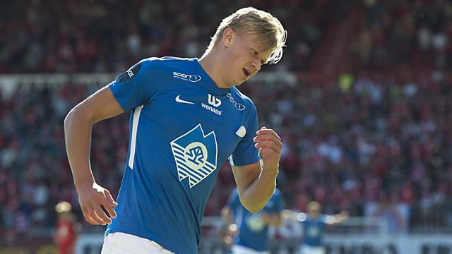 Molde-talentet: – Jeg vil bli en av de beste spissene i verden