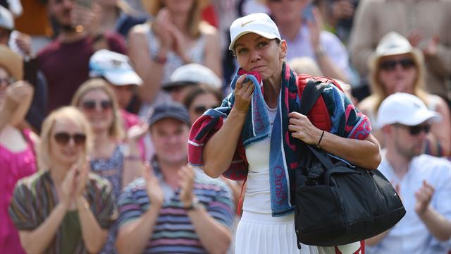 Top seed Halep OUT, top six fall in first week