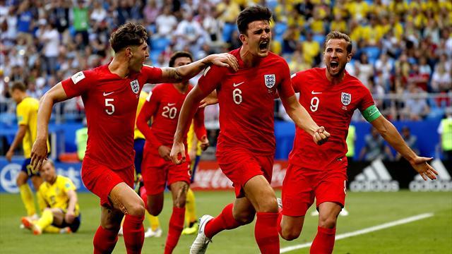 Maguire-Alli: l'Inghilterra batte la Svezia 2-0 e torna in semifinale dopo 28 anni