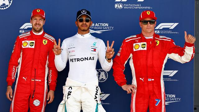 Hamilton favoloso a Silverstone! Quarta pole consecutiva ma la Ferrari c'è: Vettel 2°, Raikkonen 3°