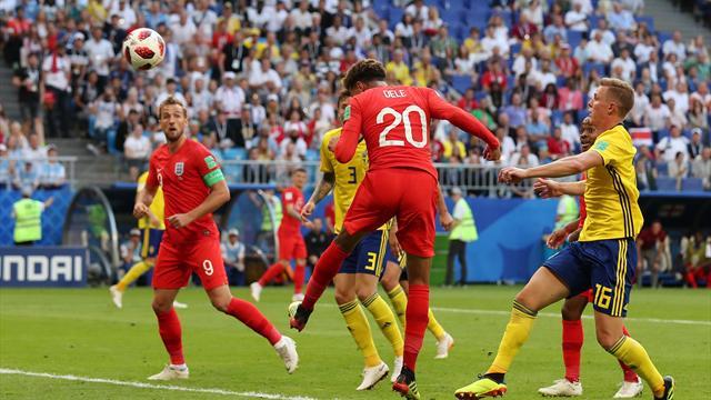 Deux coups de casque et revoilà l'Angleterre en demies