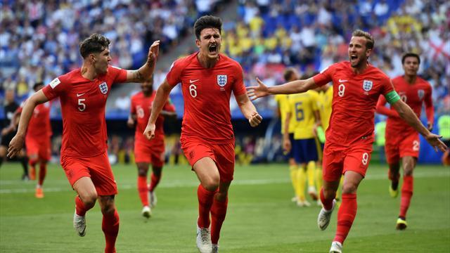 Erstes WM-Halbfinale seit 28 Jahren: England köpft Schweden raus