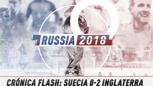 VÍDEO MUNDIAL 2018: Resumen del Suecia-Inglaterra