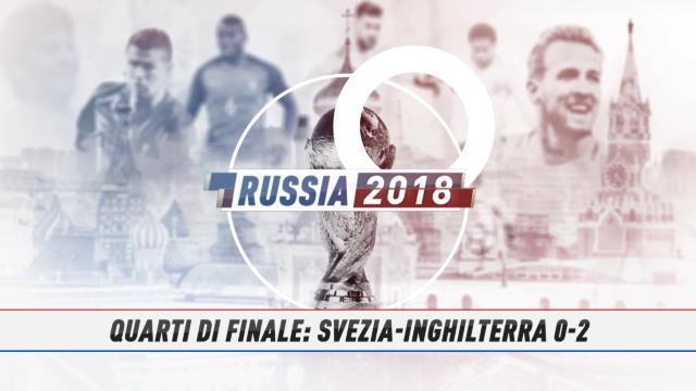 Fast Match Report: Svezia-Inghilterra 0-2 in 60 secondi