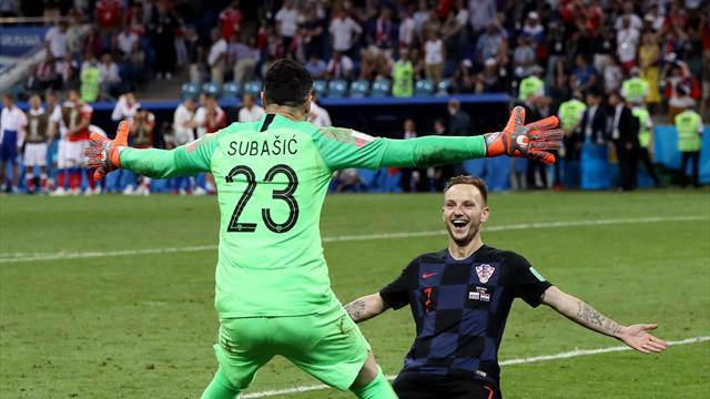 Croazia in semifinale con l'Inghilterra! Russia ko solo ai calci di rigore dopo il 2-2 dei 120'