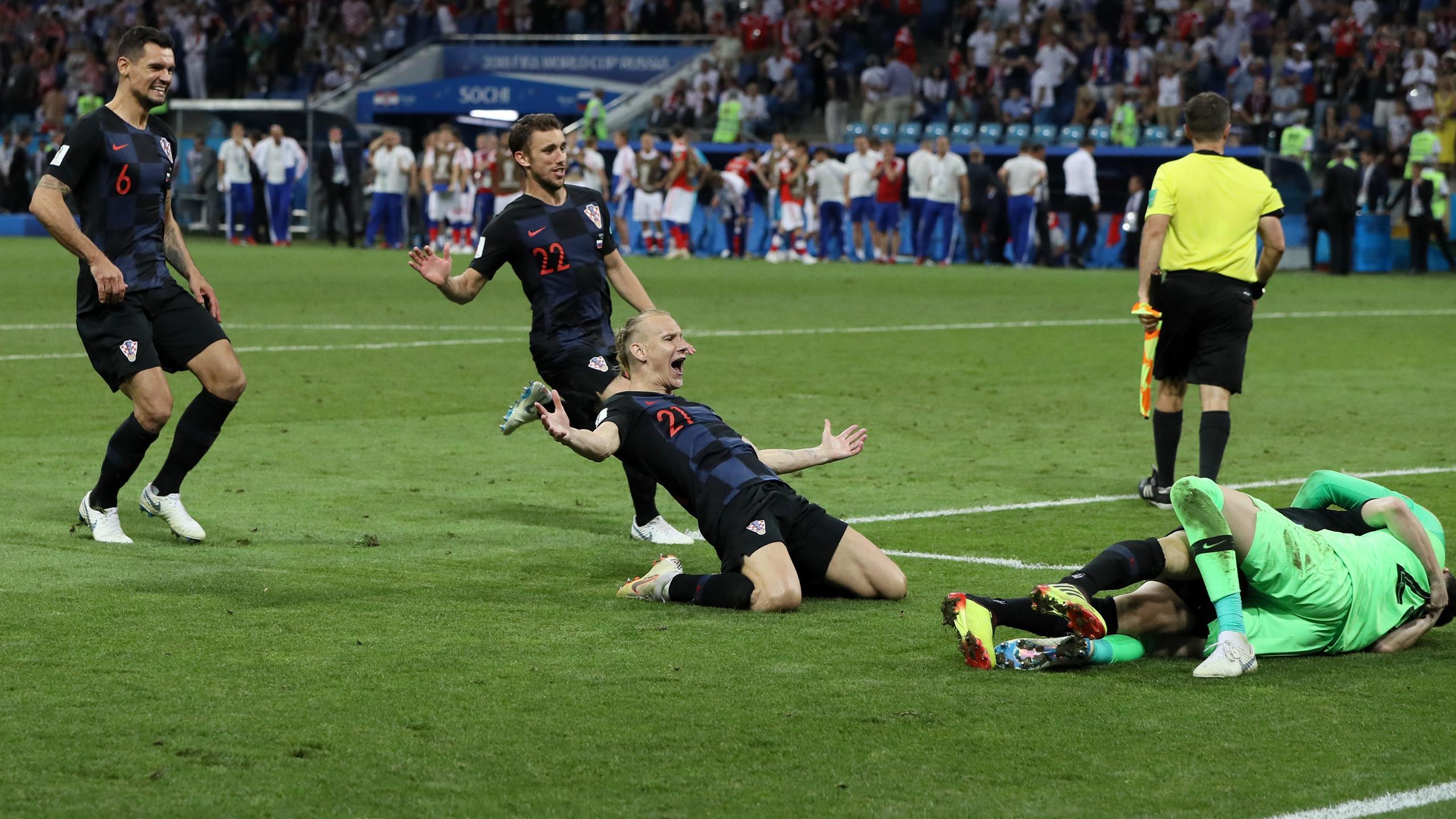 Spiel Russland Kroatien