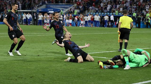Halbfinale nach Elfmeter-Krimi: Kroatien stürzt Gastgeber Russland