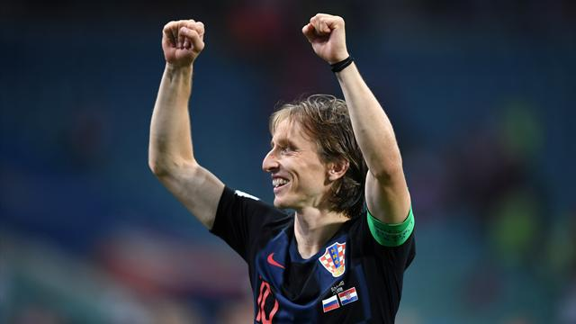 Croatian President wins hearts with celebration during win over Russian Federation