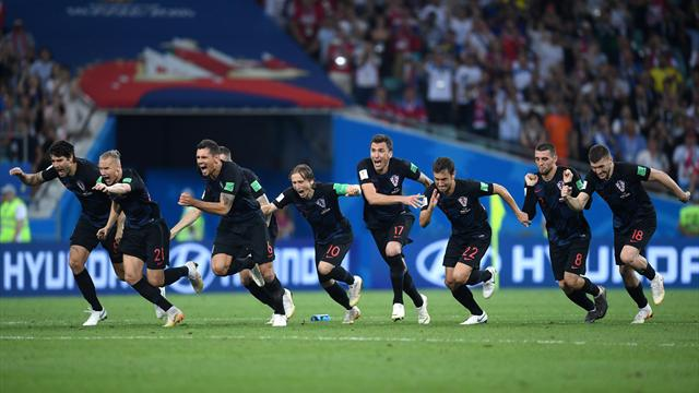 De la réussite et des ratés : la séance de tirs au but remportée par la Croatie en vidéo