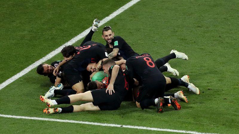 L'équipe de la Croatie qualifiée pour les demi-finales