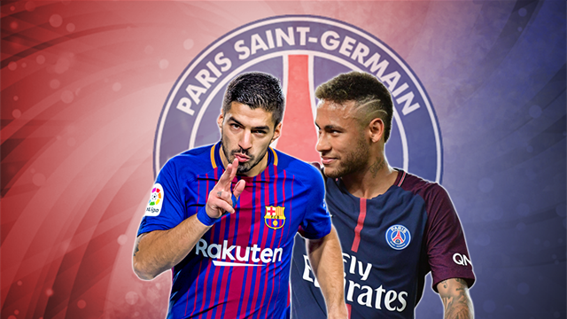 Euro Papers: Neymar wants Suarez at PSG, not Cavani