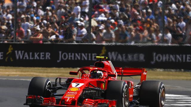 Zehn-Sekunden-Strafe gegen Räikkönen - Hamilton schon Sechster