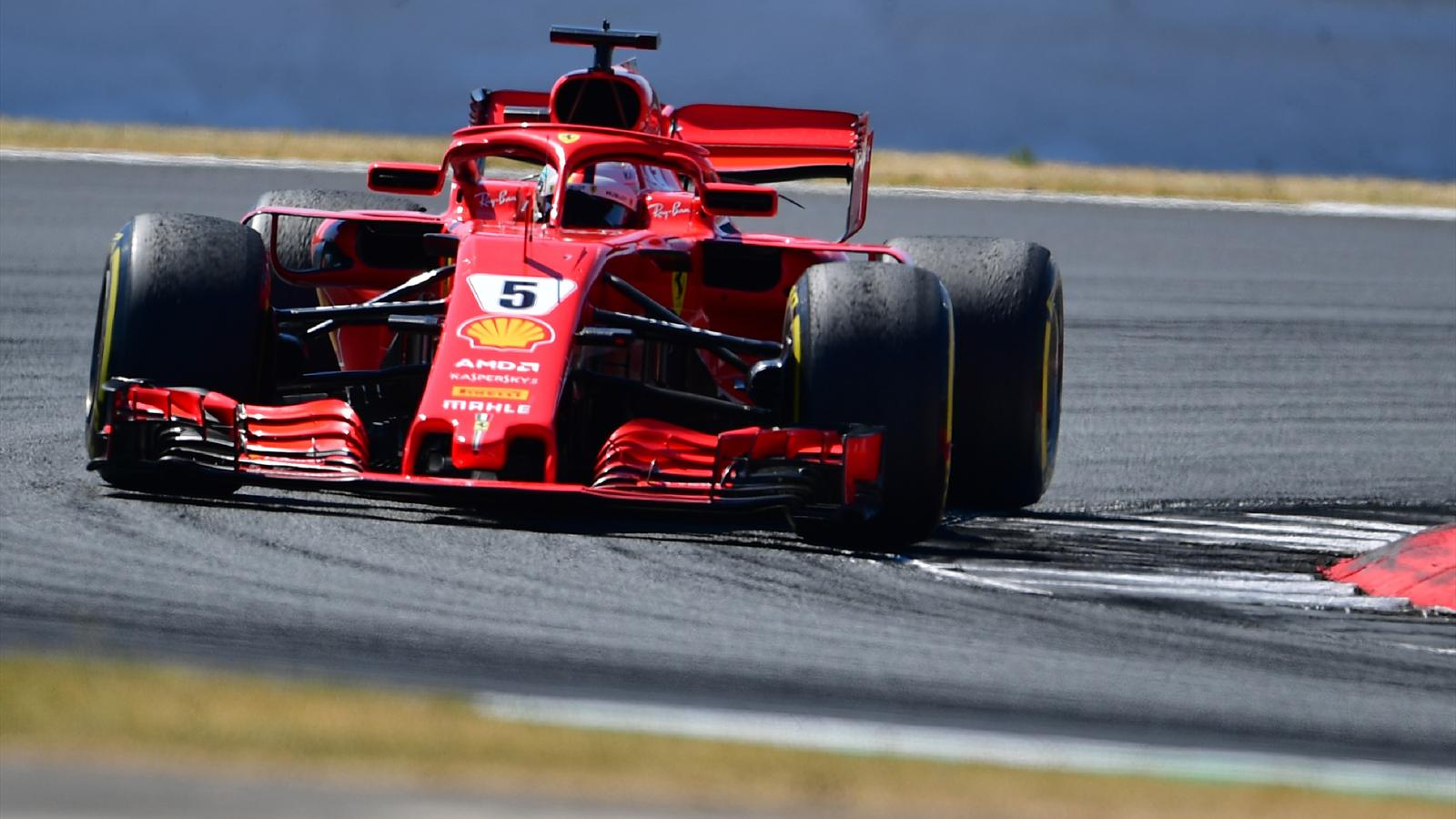 grand prix de grande bretagne sebastian vettel s 39 impose devant lewis hamilton et kimi. Black Bedroom Furniture Sets. Home Design Ideas