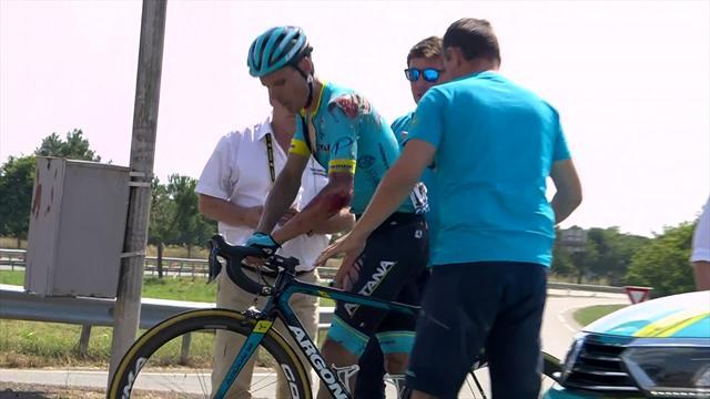 Tour de Francia 2018: Luisle confiesa en Eurosport lo complicado que fue su traslado para operarle