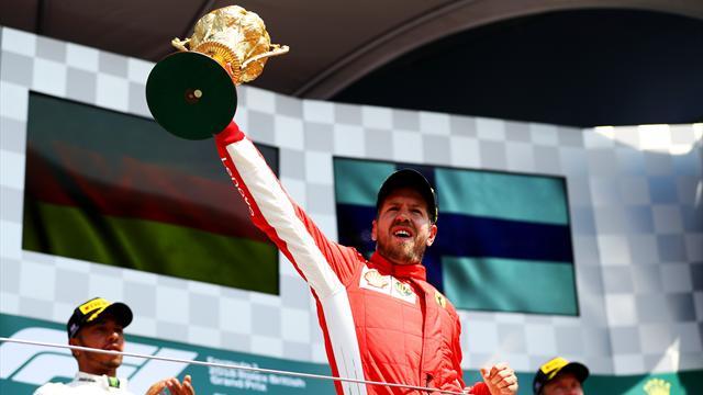 Triunfo de Vettel, exhibición de Hamilton y más puntos para Alonso en Silverstone