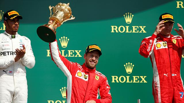 British Grand Prix: Vettel stretches lead over hapless Hamilton
