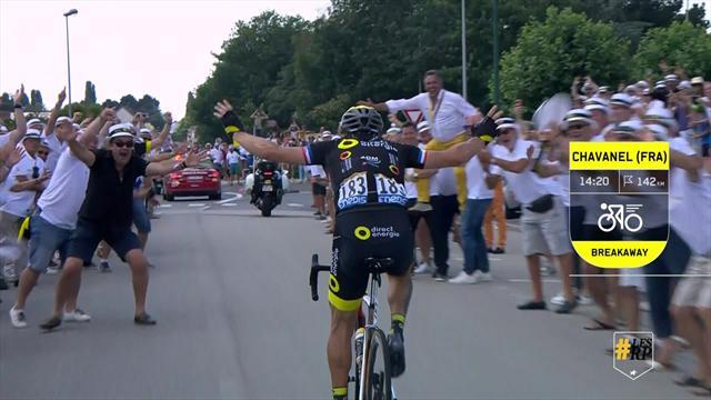 Tour de France: Keys Moments Stage 2