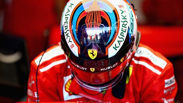 """Räikkönen l'admet : """"C'était ma faute"""""""