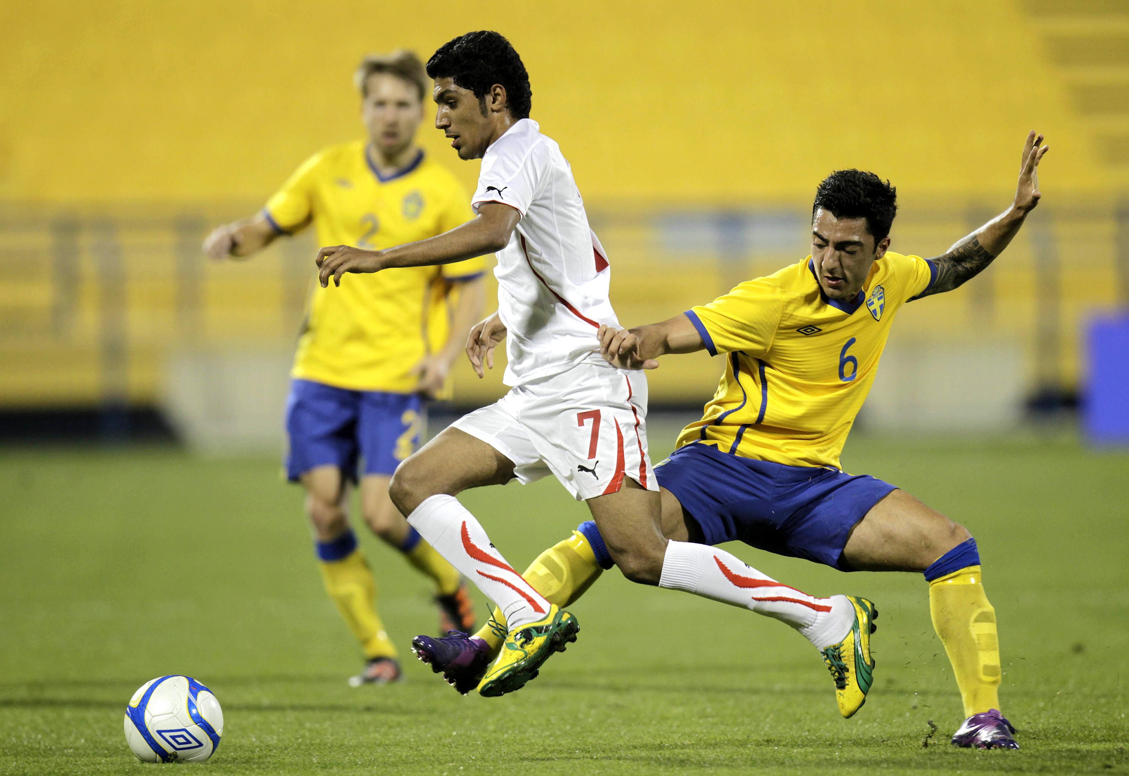 Jiloan Hamad i U21-landslaget